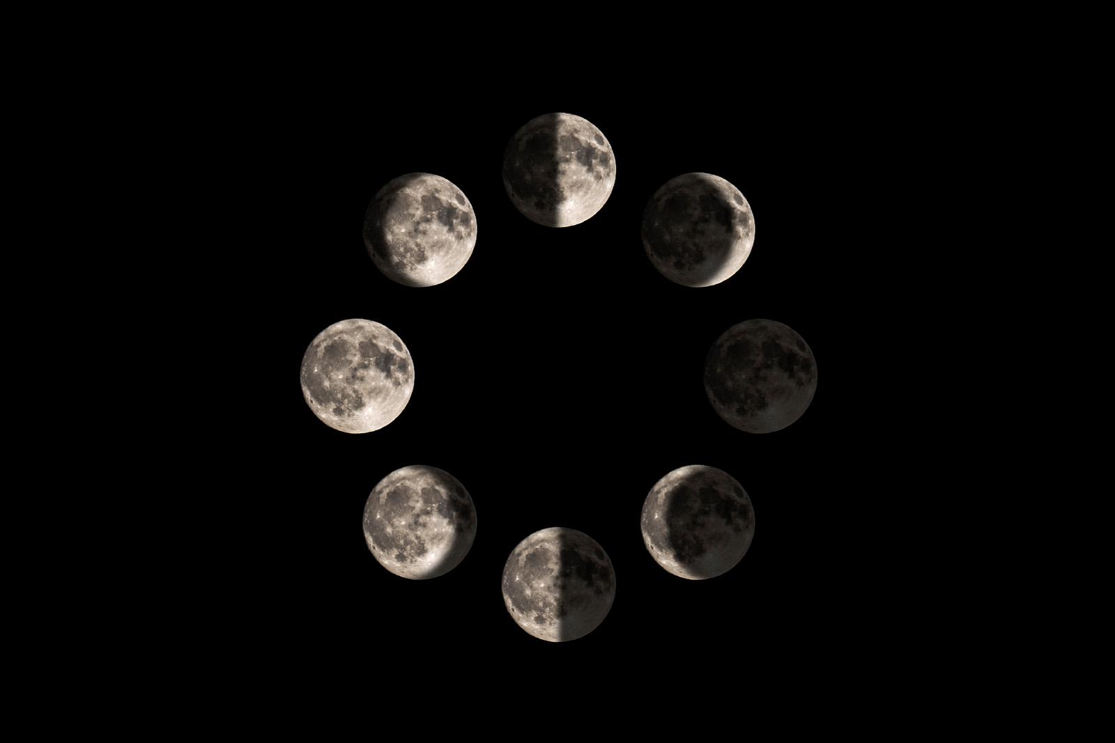 Night Sky Photography – The Moon – Rachel Lerch Photography